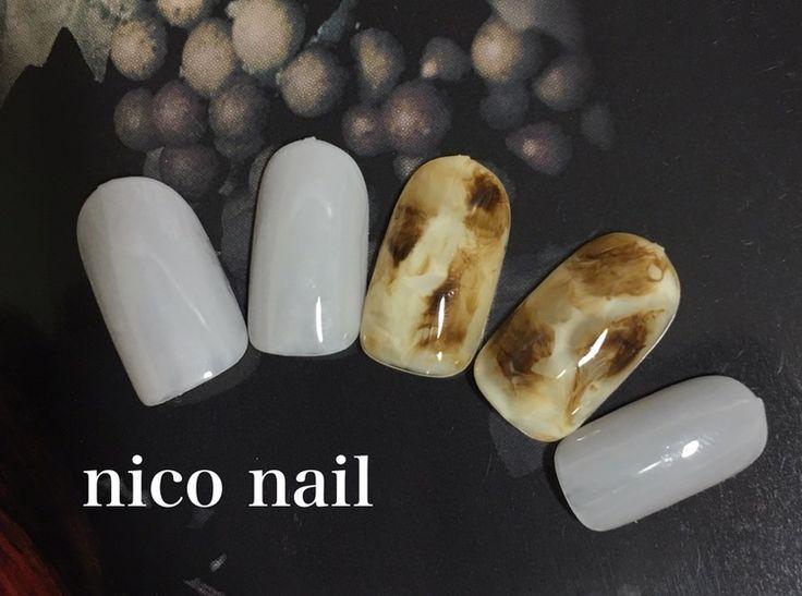 浜松市 中区 自宅ネイルサロン nico nail ニコネイル:季節先取り、べっ甲ネイル