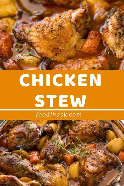 Chicken Stew Chicken Dishes Pinterest Stew Chicken And
