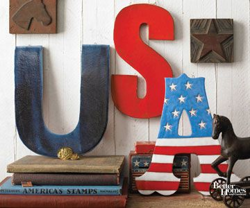 Spell It Out ...USAHoliday, Crafts Ideas, Fourth Of July, 4Th Of July, July 4Th, Wooden Letters, Red White, Crafts Stores, Usa
