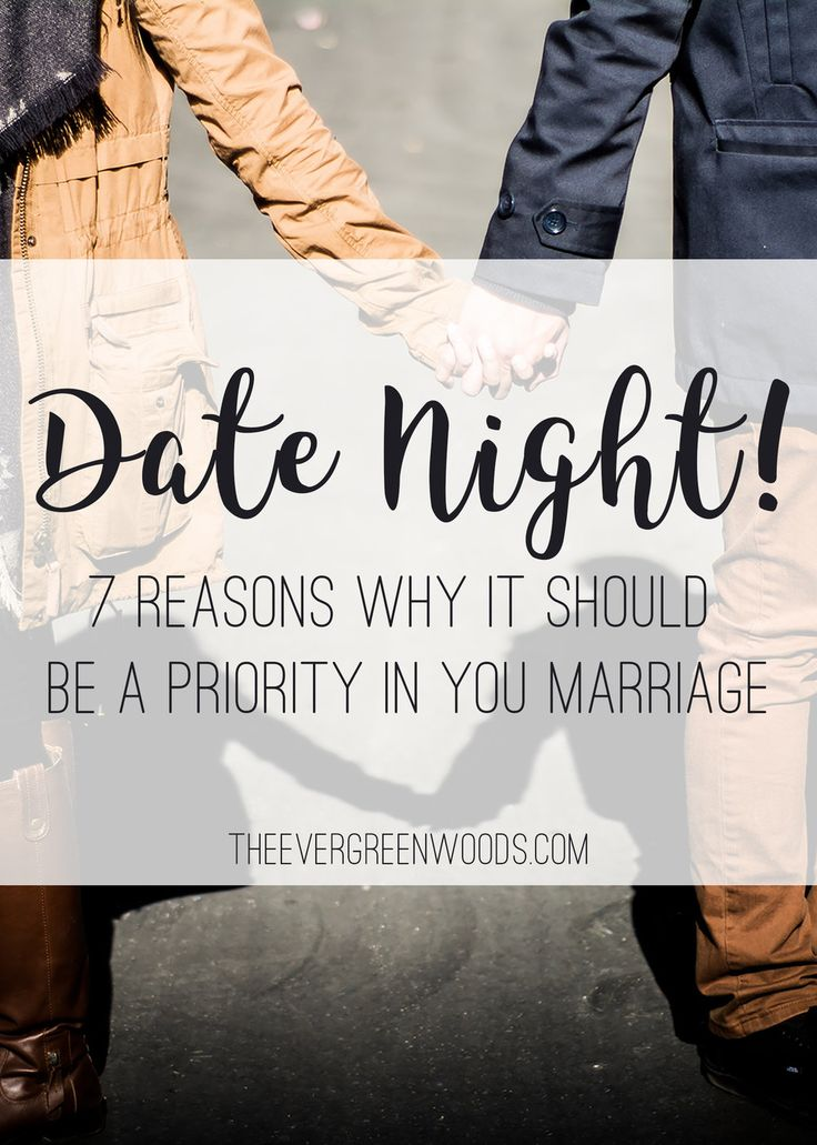 Date night has not always been a priority for us. Check out the reasons we now mark date nights on our schedule!