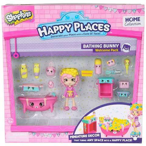 Shopkins: Happy Places Bathing Bunny szett
