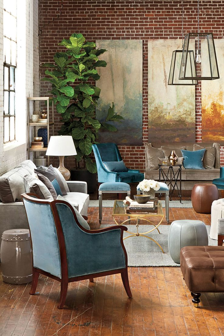 Finding a balance of masculine and feminine touches in decorating your home.