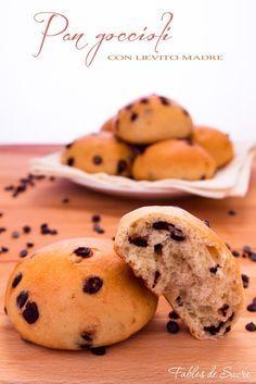 Pan goccioli con lievito madre, sofficissimi e buonissimi nella loro semplicità, ideali per la colazione o la merenda o per lo spuntino a scuola dei bambini