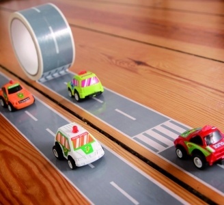 A great gift idea for the little car lover. My First Autobahn