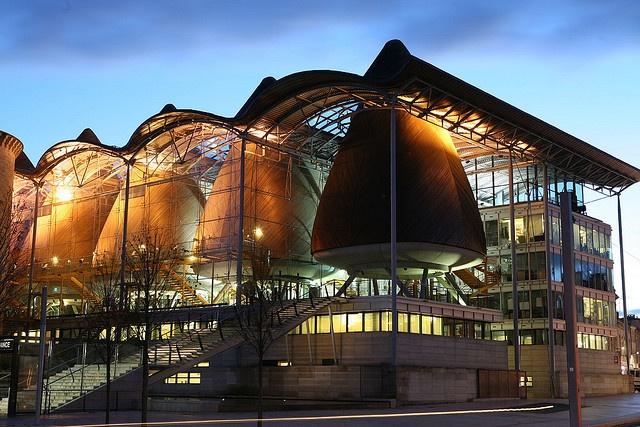 Bordeaux: Palais de justice, la nuit