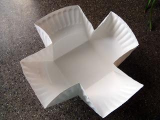 Ameroonie Designs: Paper Plate Basket Tutorial