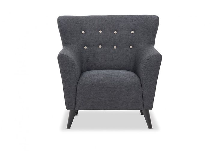 Country Fabric Accent Chair | Super Amart