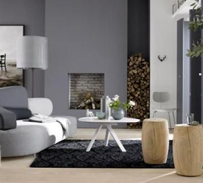 27 best Wandfarbe Grau images on Pinterest Living room grey - wandfarbe grau