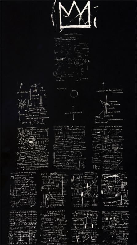 Jean-Michel Basquiat - Tuxedo, 1982