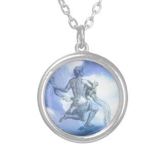 Age of Aquarious Astronomy Necklace