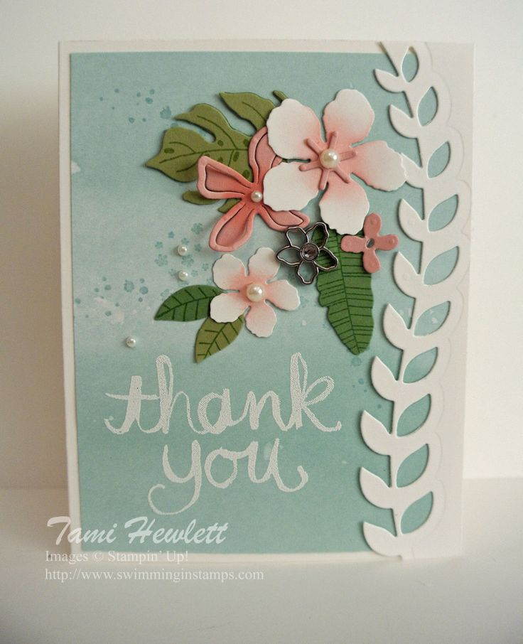 Botanical Blooms and Botanical Builder Framelits Dies | Swimming In Stamps