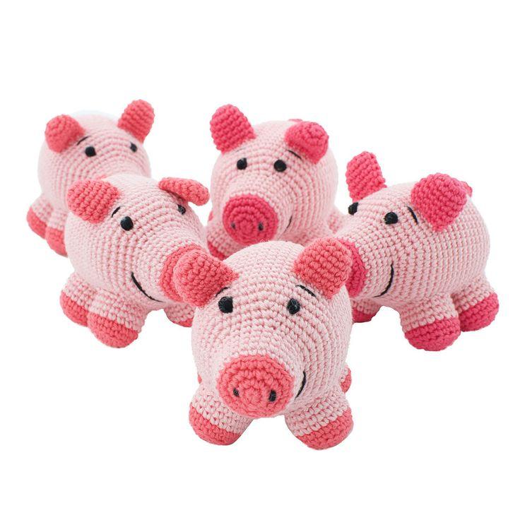 Crochet Toy Pig – Hammy