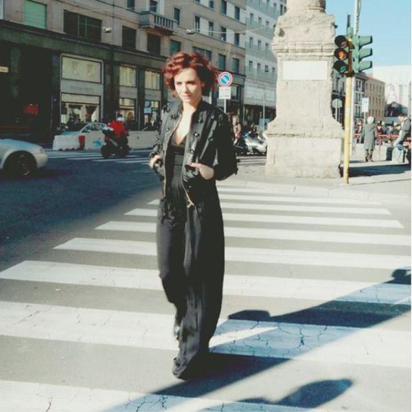 Camilla Filippi wear AnnaRita N Collection