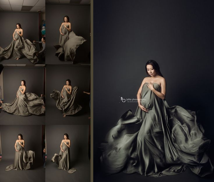Maternity photography fabric blowing backstage - Maternity, Baby and Newborn Photography Vancouver & Burnaby