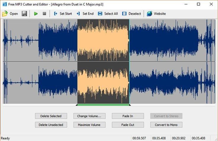 Un sencillo software gratuito para cortar audio y realizar otras tareas de edición, como subir/bajar volumen, fade In/Out y conversiones Mono/Stereo.