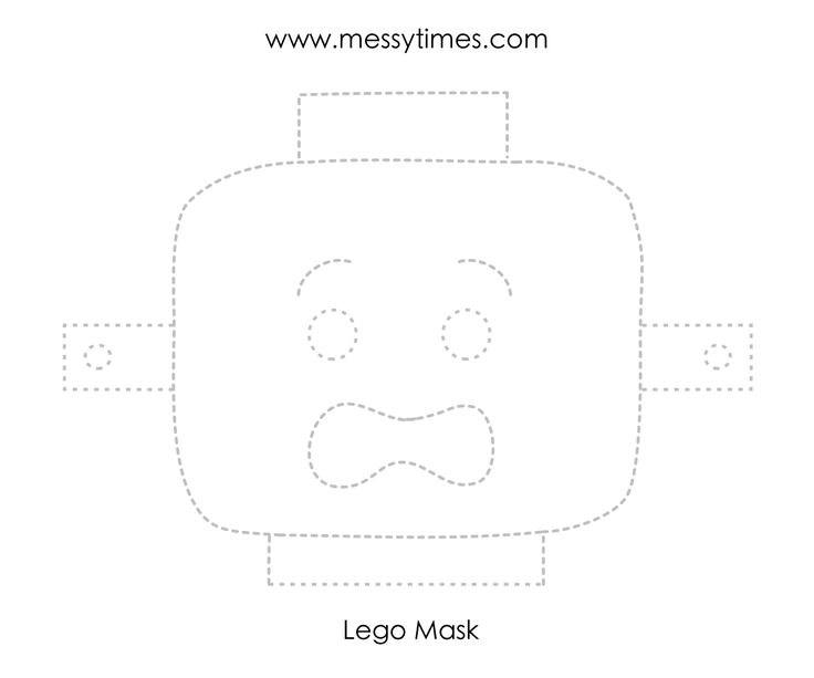 A lego mask with a scared face. Print on card for best durability.  Share this:TwitterFacebookPinterestGoogleRedditLinkedInTumblrEmailLike this:Like Loading...