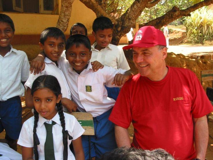 """""""Absoluter Höhepunkt in meinen KURIER-Jahren war die Hilfsaktion in Sri Lanka – die befriedigendste Sache, die ich veranstalten durfte. In meinem ganzen Journalistenleben. Vor Ort etwas organisiert, elf Millionen Euro ohne Versickern von Geldern direkt an die Leute bringen"""" - Peter Rabl (KURIER-Chefredakteur, 1993 bis 2005), Foto: Andrea Winter"""