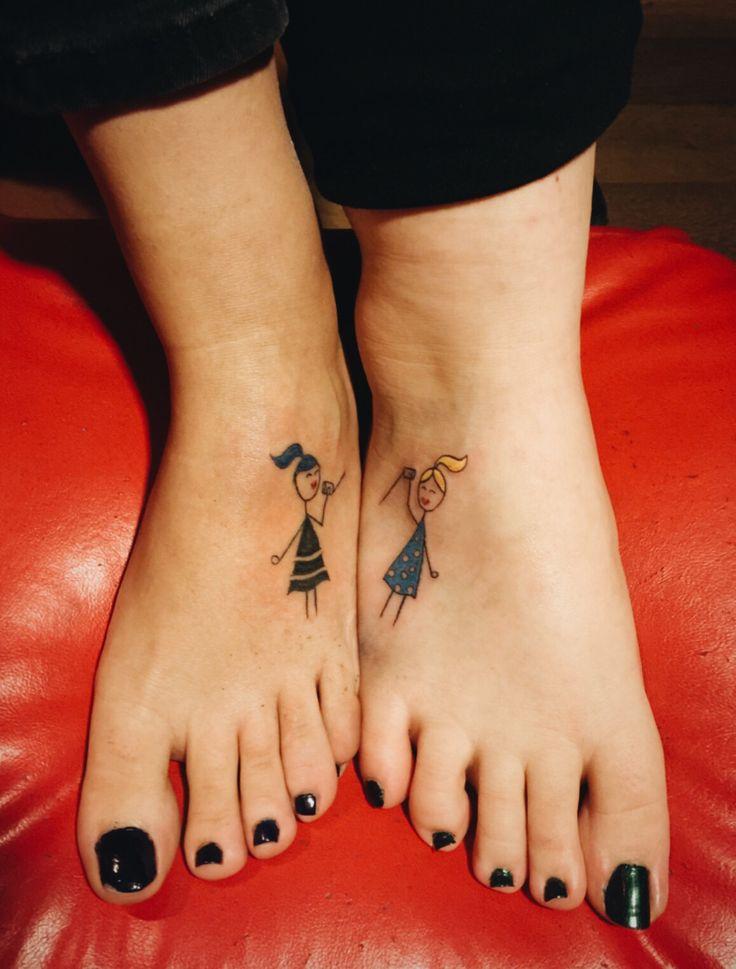 Sister tattoo #tattoo #sisters #sisterstattoo