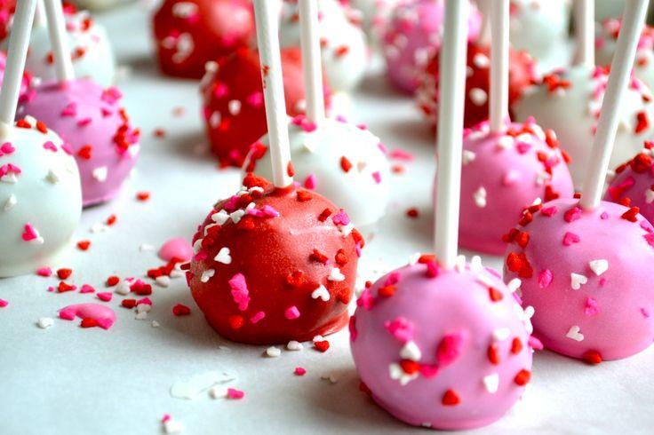 Valentine's Day Oreo Cake Pops - A Cedar Spoon