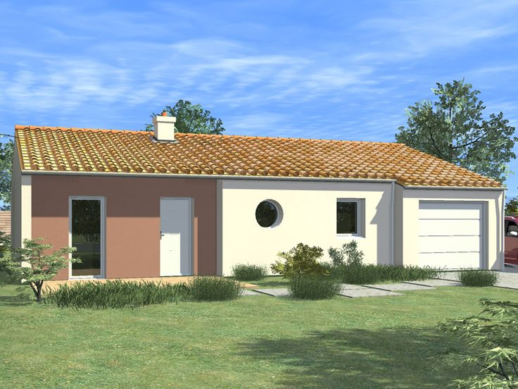 Dessin e par alliance construction cette maison de plain for Construction maison plain pied