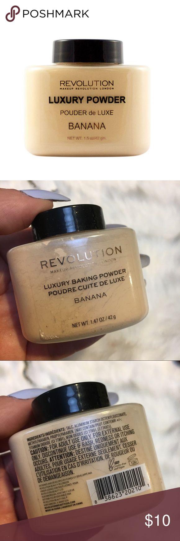 Revolution banana powder loose powder for baking Banana