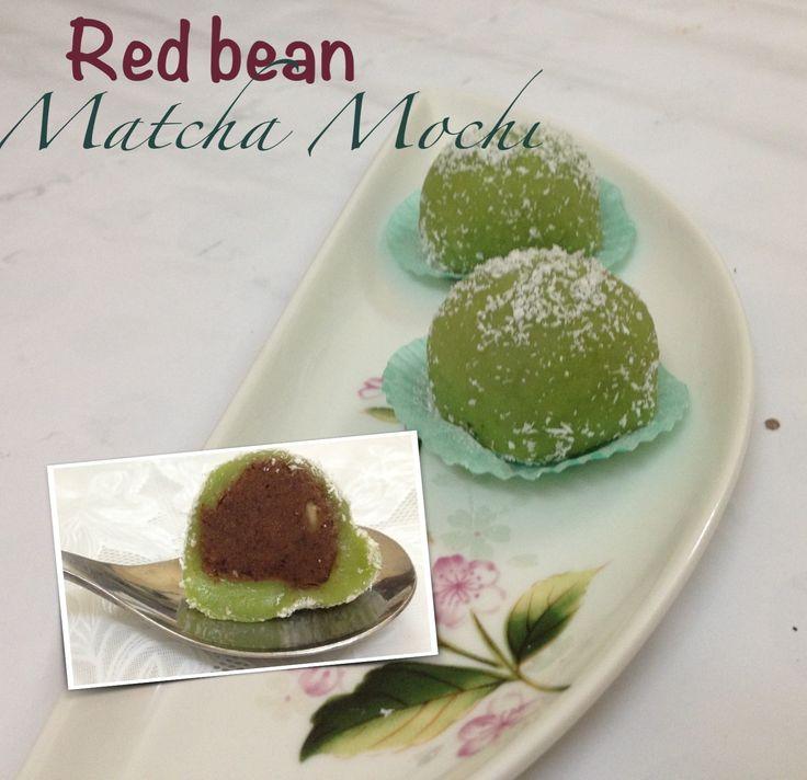 Matcha mochi