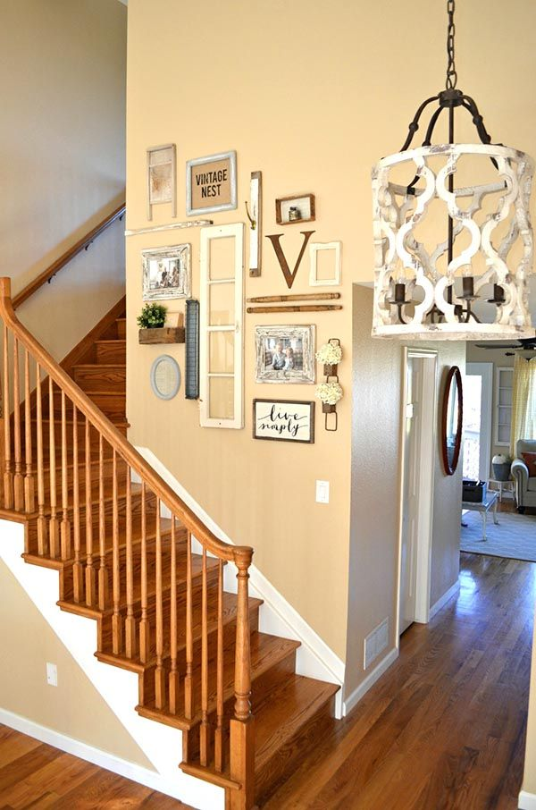 27 Awesome Staircase Decorating Ideas Staircase Wall Decor Wall Decor Bedroom Stair Decor