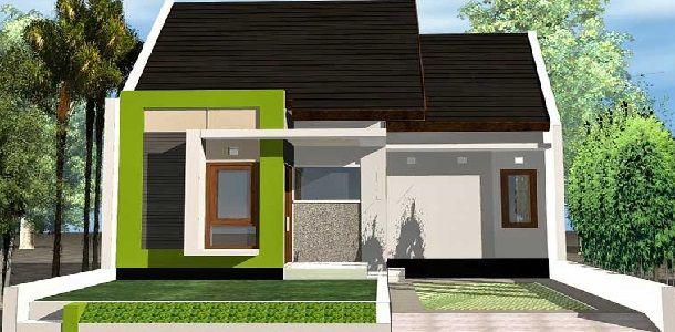 Desain Rumah Type 36 Tampak Depan