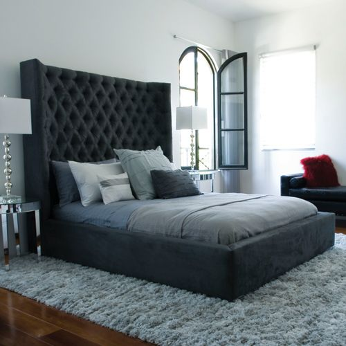 Sasha Bed Materials Shown In Ultra Suede Dimensions 81 Quot W