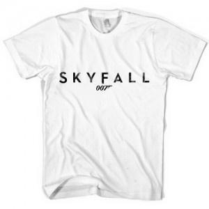 Skyfall Logo James Bond 007 Movie Logo Daniel Craig tee!