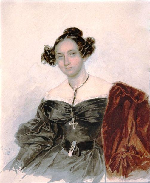 Надежда Ивановн Голицына, урожд. графиня Кутайсова (1796–1868),