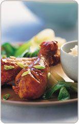Asian marinated chicken drumsticks