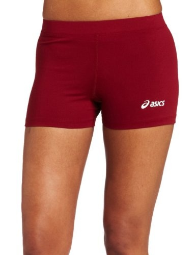 ASICS Womens Low Cut Short clothing. Low-cut shorts for women athletes. Moisture-wicking Hydrology fabric draws sweat away from the skin. Strong flat seam technology less bulky than conventional flat seams. CoolMax crotch gusset wicks away moisture. Machine wash and dry for easy care