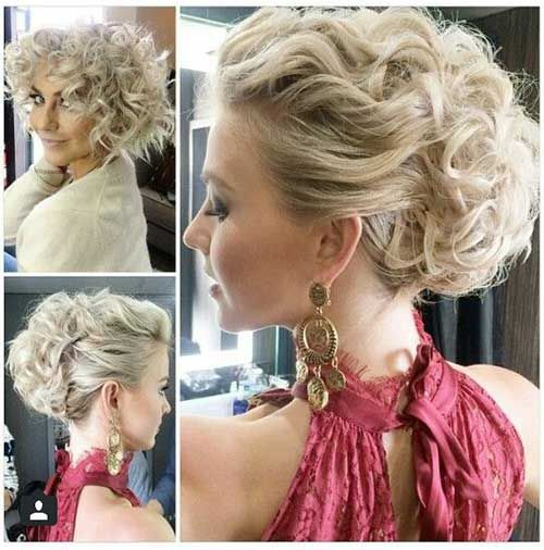 Updo Party Hairstyles : Best 25 updo for short hair ideas on pinterest short updo