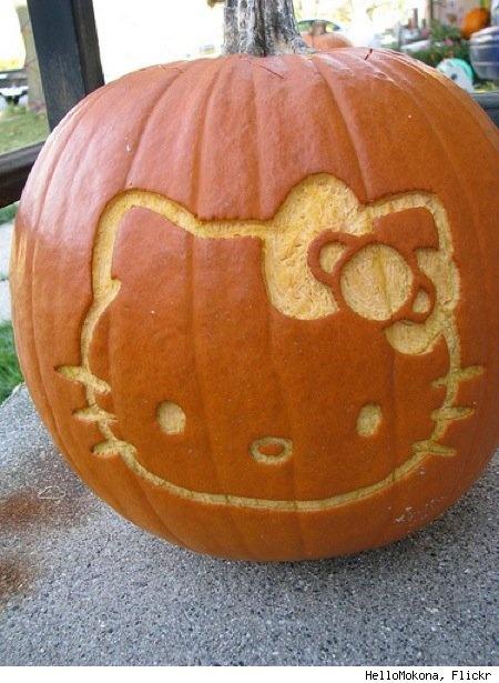 Mad Minerva 2.0: Hello Kitty Monstrosity of the Day: Hello Pumpkin