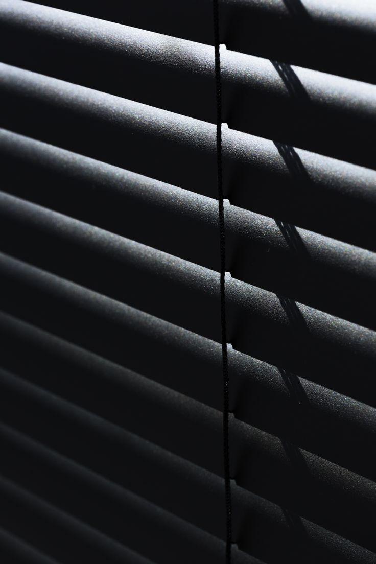 Designer Blinds in black. Check out our gallery www.byartandersencph.com #danish # design #nordic #blinds #decor