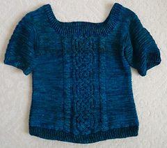 Aberdeen Castle Cable Sweater--Noelle Stiles