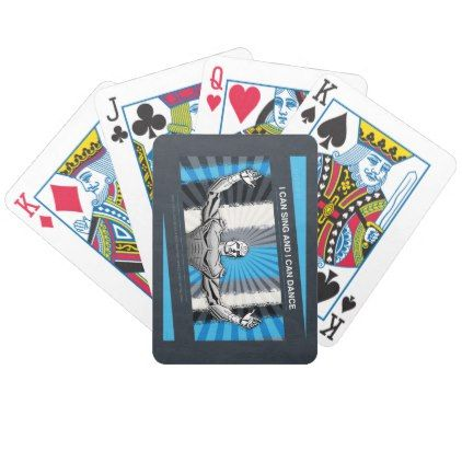 Problem Robot Bicycle Playing Cards  $22.75  by politix  - custom gift idea