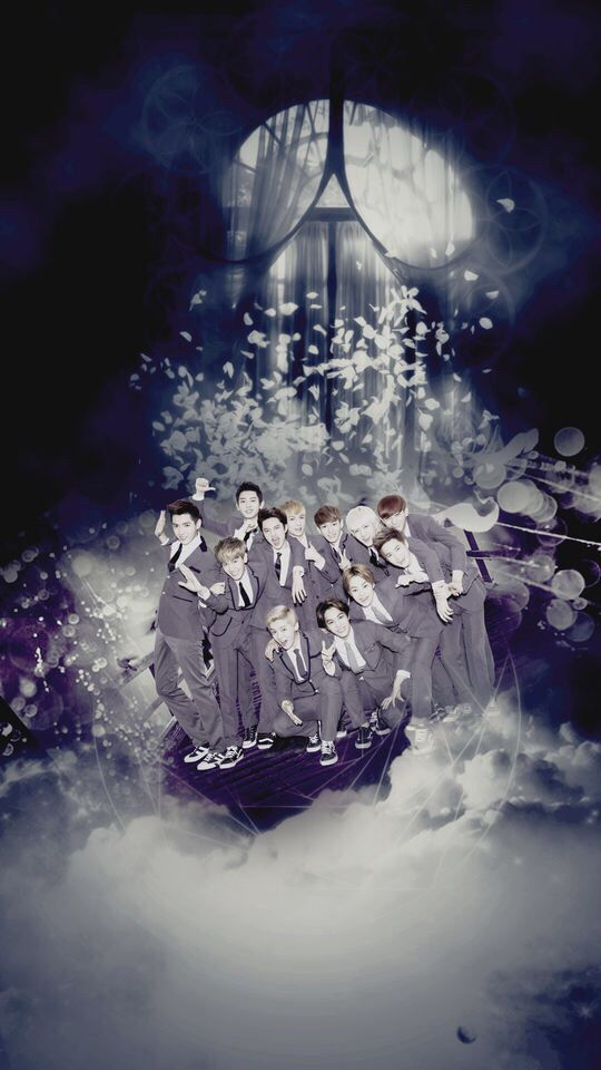 ∘∽∙❁♕∙∾♡eхo wallpaper'ѕ∾∙♕❁∙∽∘  @neenakyungsoo