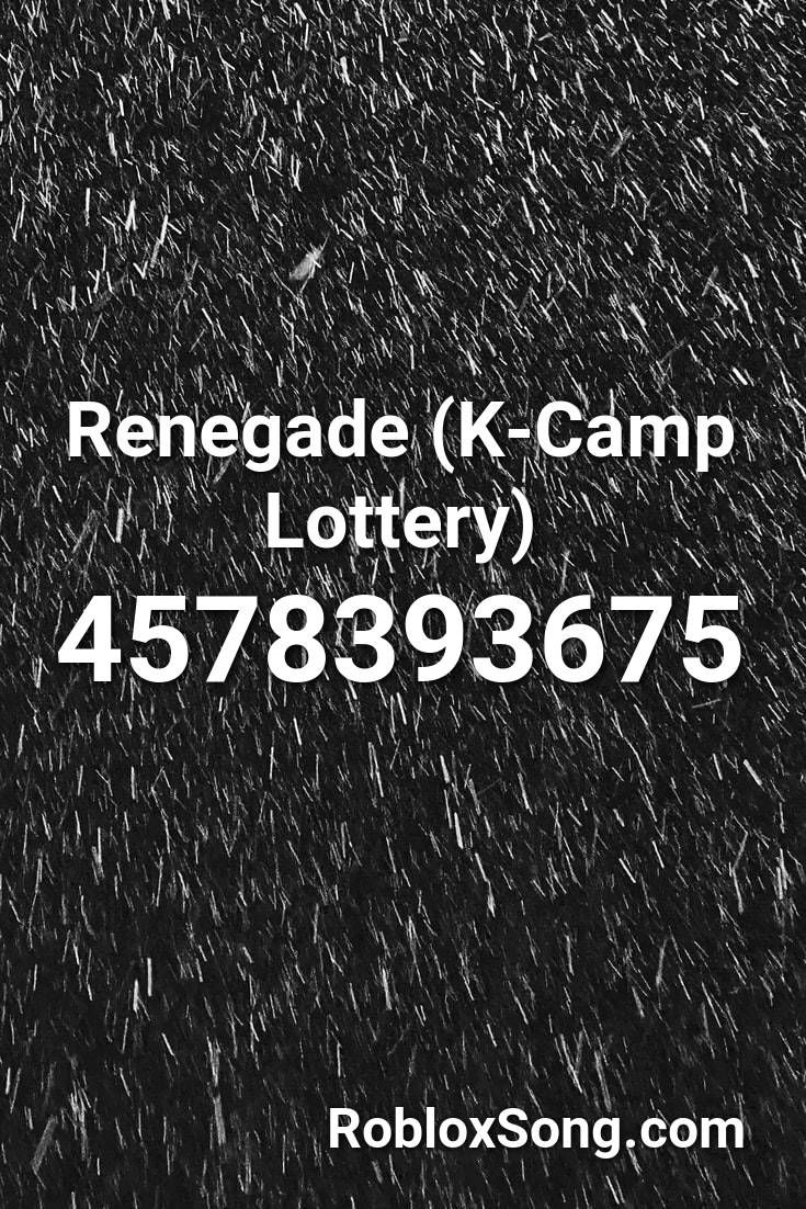lottery k camp roblox id