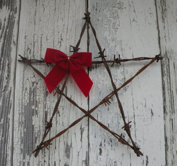 Barbed Wire Art by SouthwindCrafts on Etsy, $8.00