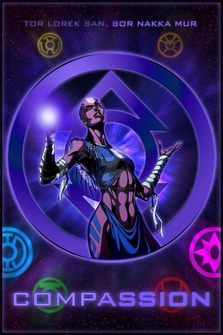 The Lantern Corps - Indigo Tribe by KPants on DeviantArt