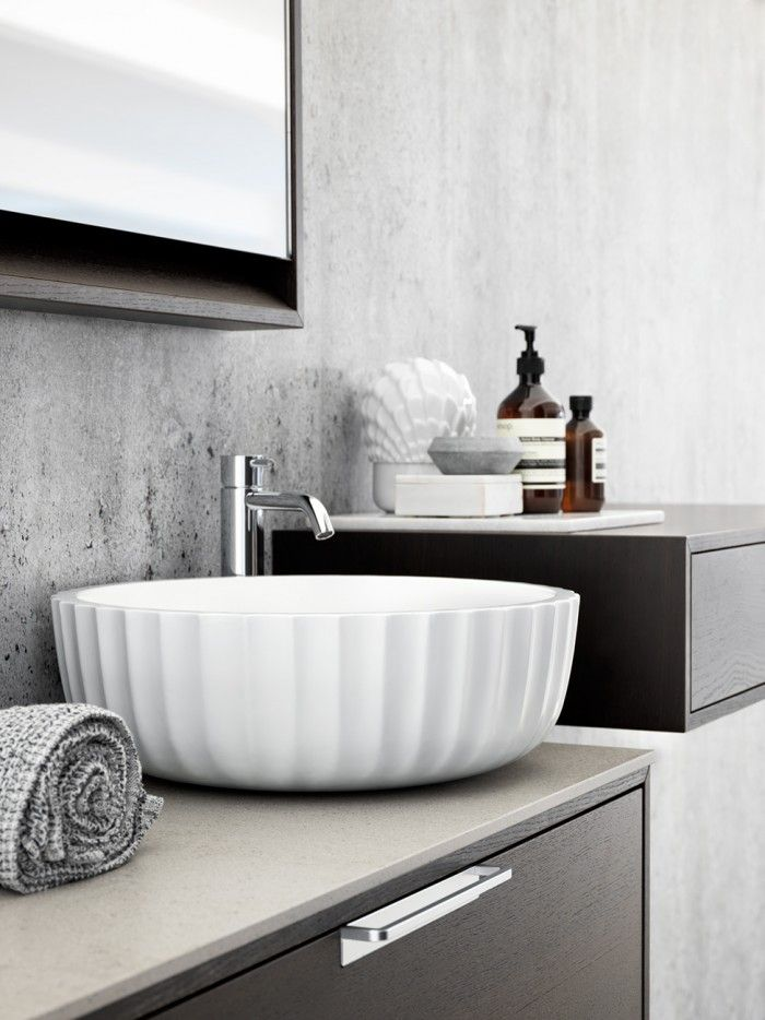 21 best waschbecken images on Pinterest Sink tops, Bathrooms and - küche waschbecken keramik