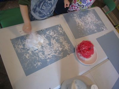 Cloud Painting Activity (to go with book, Cloudette by Tom Lichtenheld)