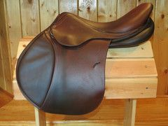 I Sell Tack.com - French used saddle for sale CWD Butet Devoucoux Antares Delgrange
