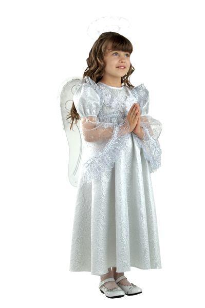 Классический костюм ангела для девочки — http://fas.st/mfOeE