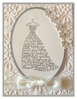 Stamp Journey: Wedding: Love & Laughter in White