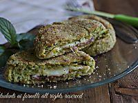 Cotolette zucchine e prosciutto al forno