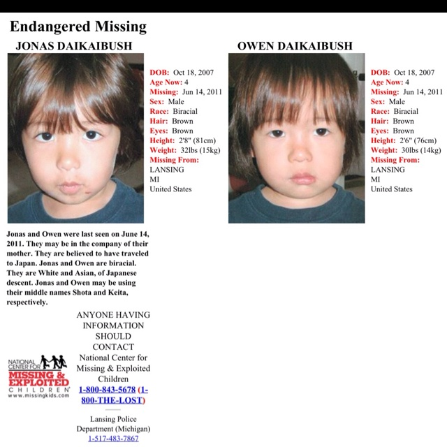 TAKE A LOOK-Michigan Missing Children