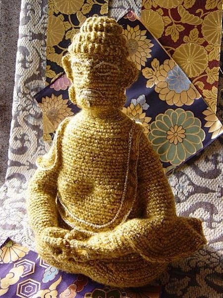 116 best buddha images on pinterest buddha buddha art and buddhists Crochet home decor pinterest